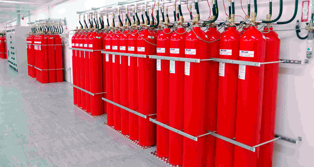 Gas Extinguishing Systems